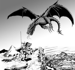 El Caballero y el Dragón
