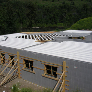 Fortis Floor system with Logix ICF blocks. Large 8000sqft custom home