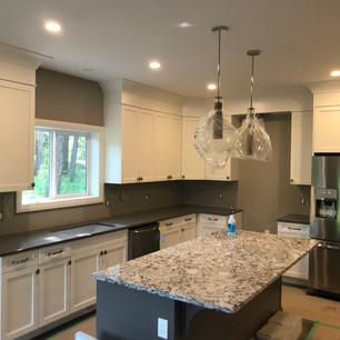 Recent custom kitchen