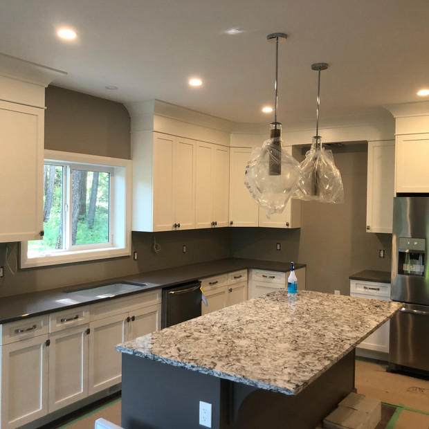 Recent custom kitchen