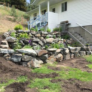 Rock planter