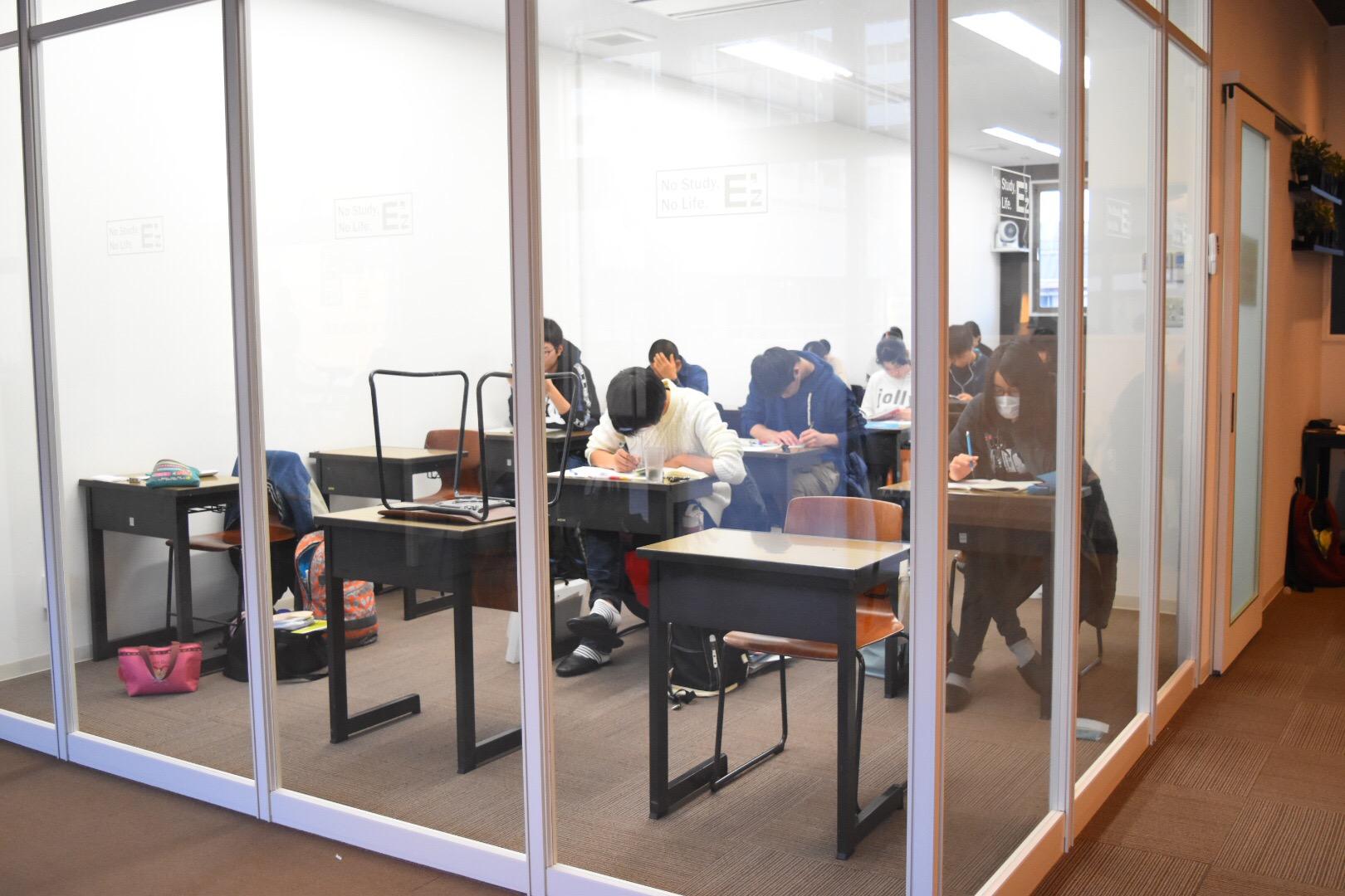 集中したい人のための自習室