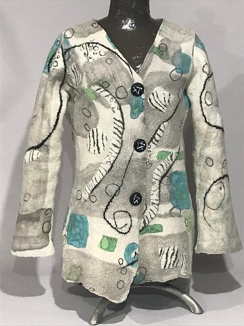 Nuno Felted Spring Jacket