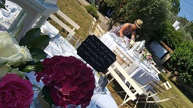 mariage champêtre - Var