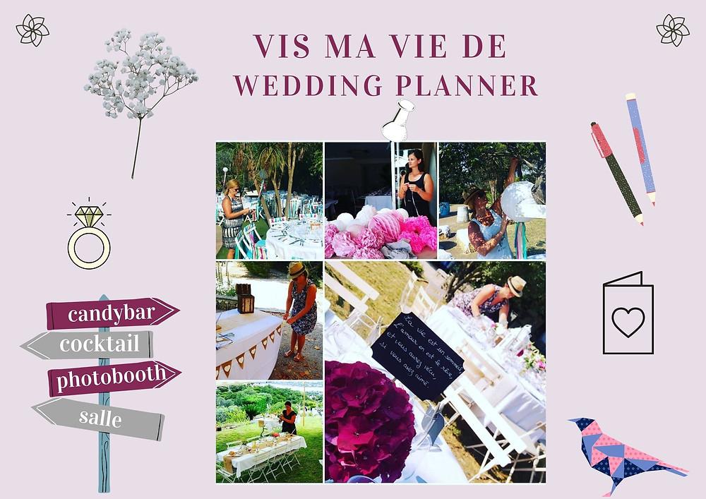 quotidien d'une wedding planner