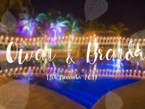 Owen & Brenda | Cozumel's Dream Wedding