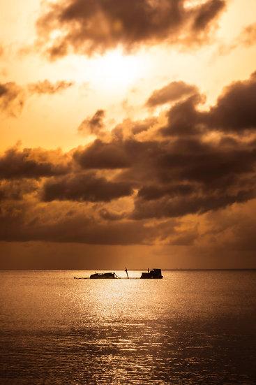 Metallic Gold - Cozumel Sunset