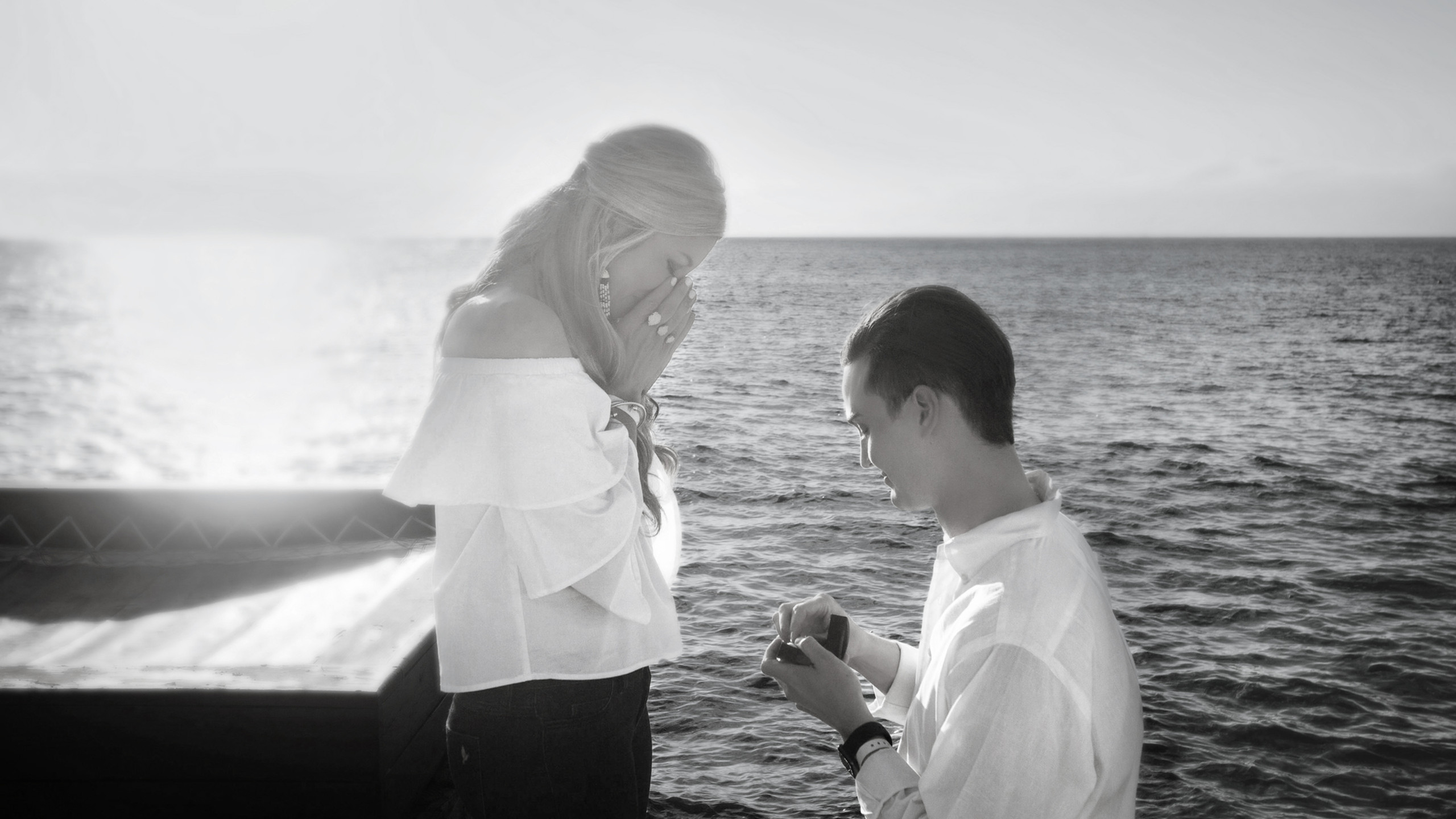 Engagement in Cozumel