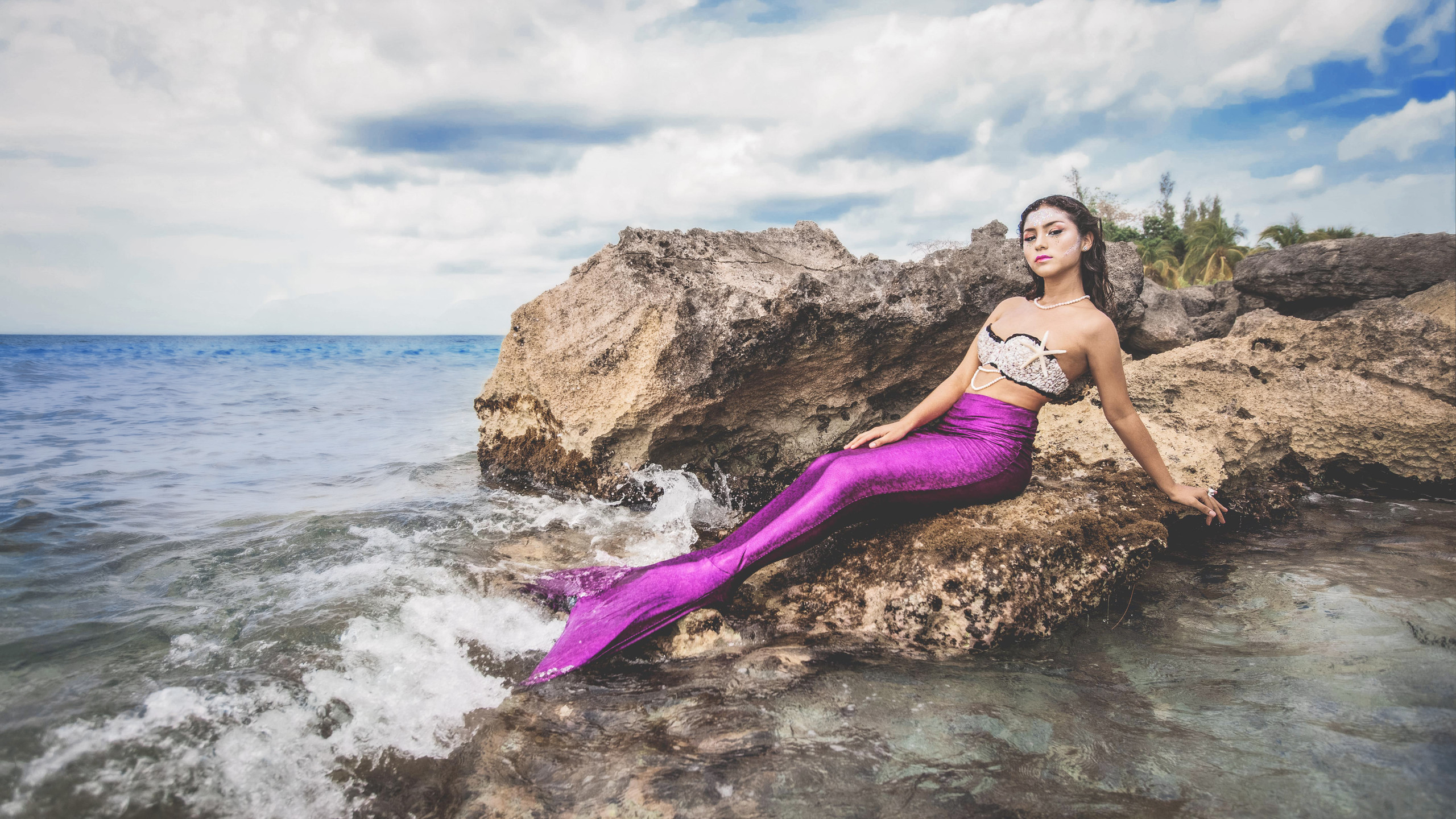 Mermaids in Cozumel