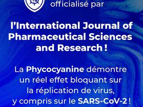 La Phycocyanine prouve son efficacité sur certains virus, dont le SARS-CoV-2 !