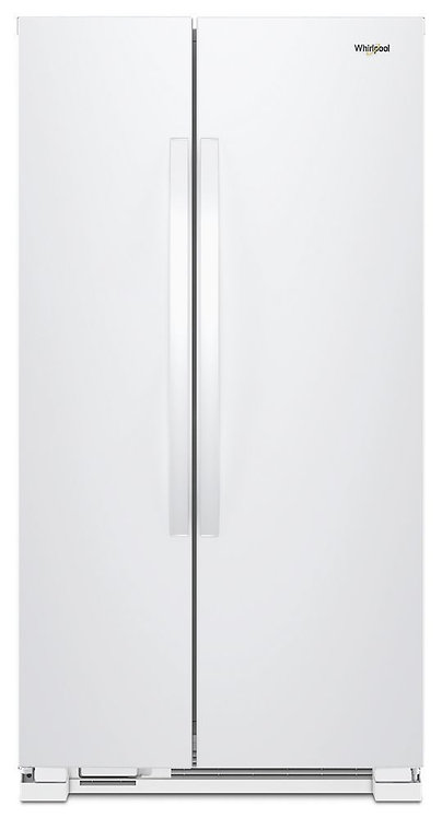 """WRS312SNHW Whirlpool 33.1"""", 22cu.ft. SXS no water/ice"""