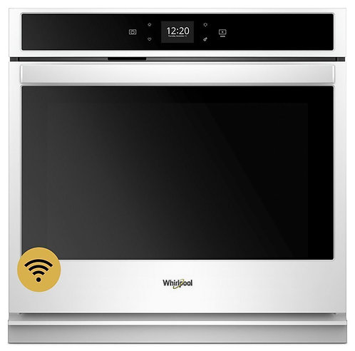 "WOS51EC7HW Whirlpool 27"" Steam Clean Built-In"