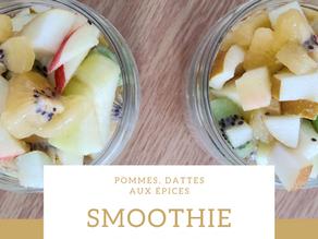 Smoothie Pommes Dattes aux Epices