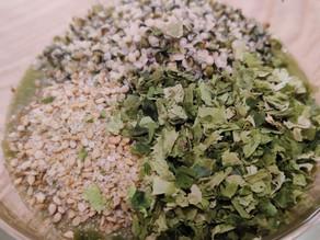 Soupe Crue et Chaude aux Champignons et Kale