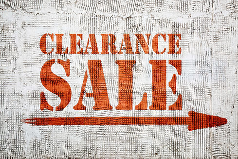 Canva - clearance sale graffiti on stucc