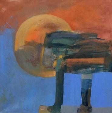 "#Feel the Heat #Oil on Canvas #30"" x 30"""