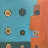 "Eye Witness, 30"" x 30"", Oil on Canvas"
