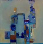 _My Rube Goldberg Machine_, 16_ x 16_, O