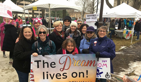 Women's March Lansing