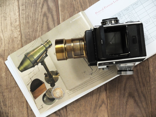 #133 The Original Petzval objective 14.9cm f/3.66 from 1842