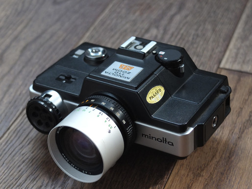 #078 World's first 110 SLR- Minolta 110 Zoom SLR