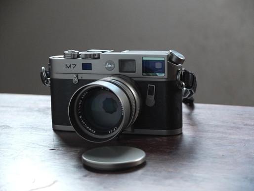 #094 Leica M7 Titanium 50 Jahre M-System