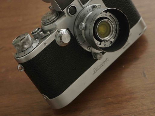 #139 1950: Leica IIIf with Leicavit SYOOM