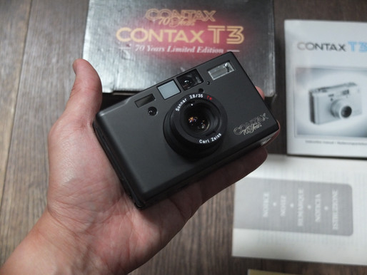 #082 Say Goodbye to My Last Contax T3 Black 70 Years Anniversary Edition