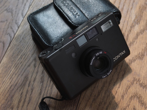 #083 My Contax T3 workhorse