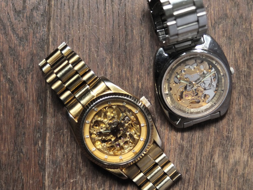 #104 Welcom back: My beloved Citizen Skeleton Automatic