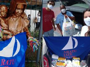 AIC realiza entrega de doações nas Obras Irmã Dulce