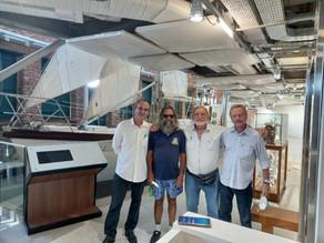 Diretoria do AIC visita Museu do Mar Aleixo Belov