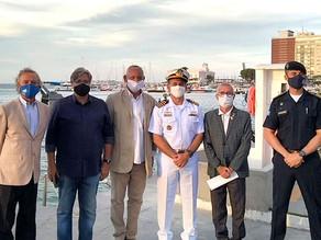 Comodoro do AIC prestigia lançamento da Operação Verão da Marinha do Brasil