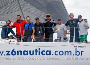 Veleiro Marujo's conclui Regata Santos-Rio entre os dez primeiros colocados