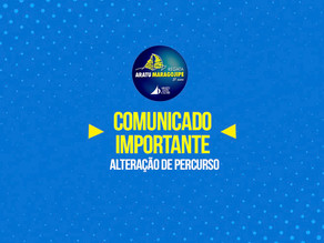 Comunicado Importante: Mudança de Percurso na Aratu-Maragojipe