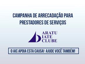 Campanha arrecada fundos para prestadores do Aratu