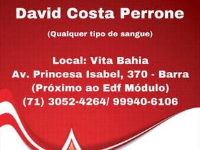Comunidade náutica mobiliza doações de sangue a David Perrone