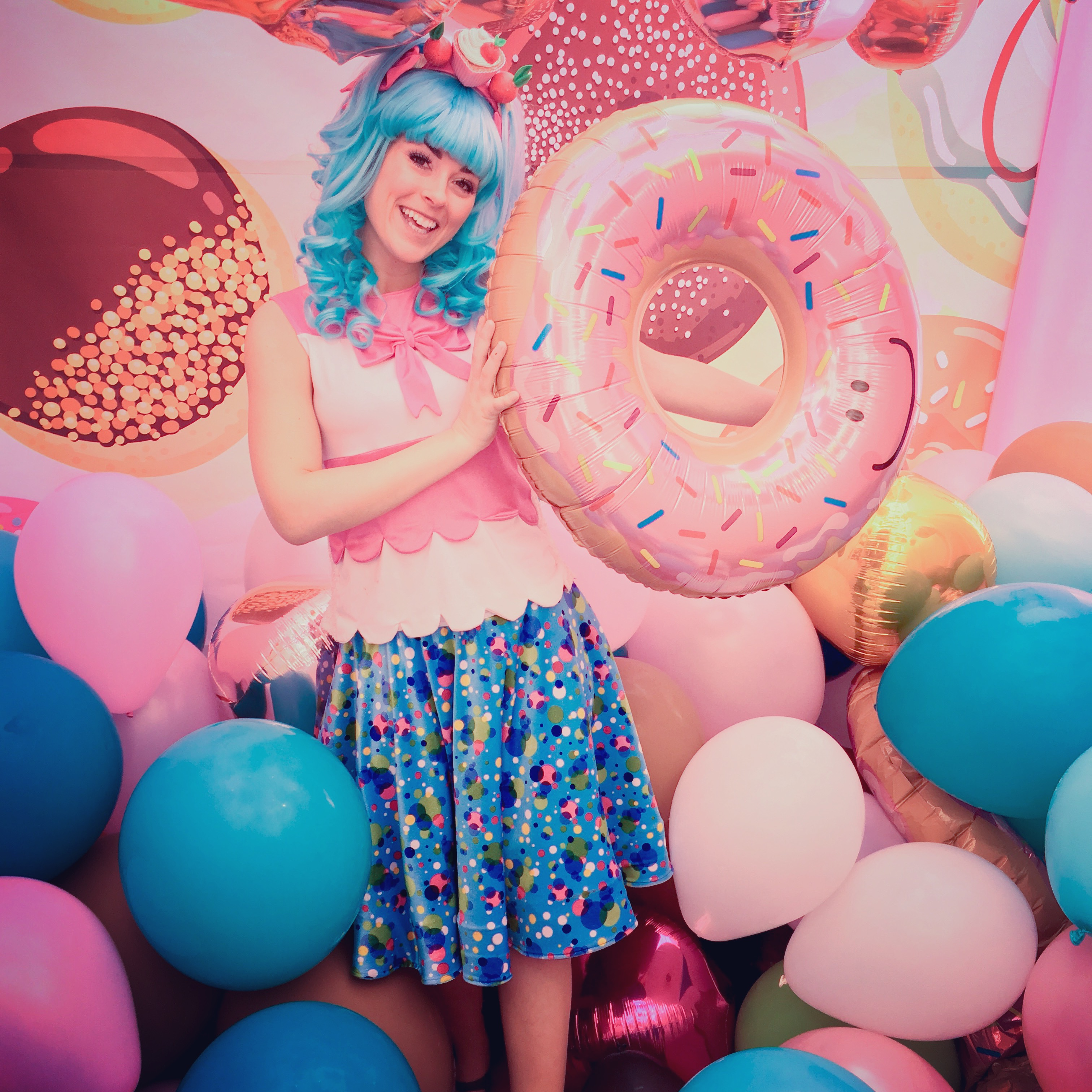 Shopkins party character for hire