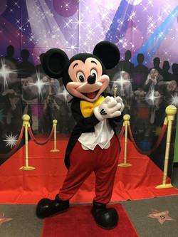 Mickey Red Carpet themed party