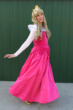 Sleeping Beauty Party Character