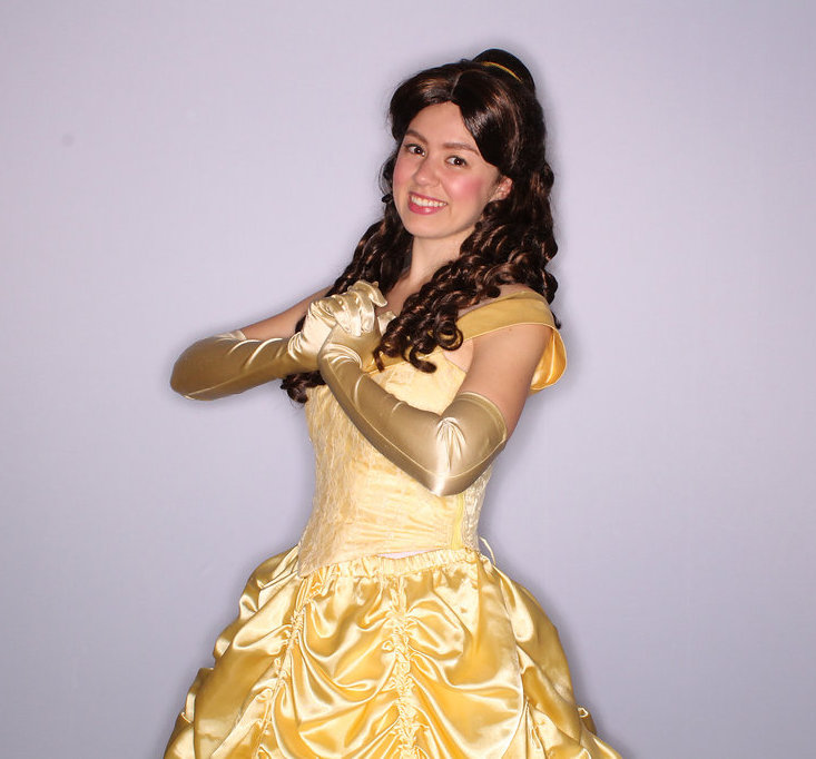 Belle character for hire for parties