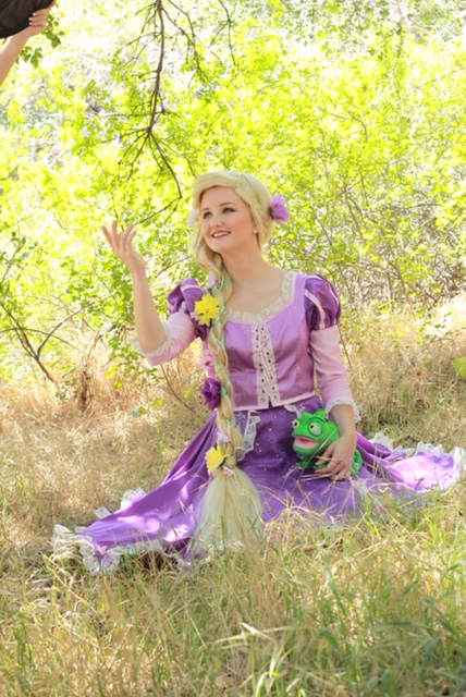 Rapunzel Birthday Party Character