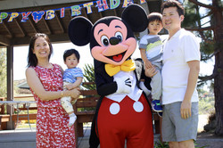 Mickey Mouse Birthday Party Characte