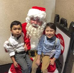 Santa Claus Character visits