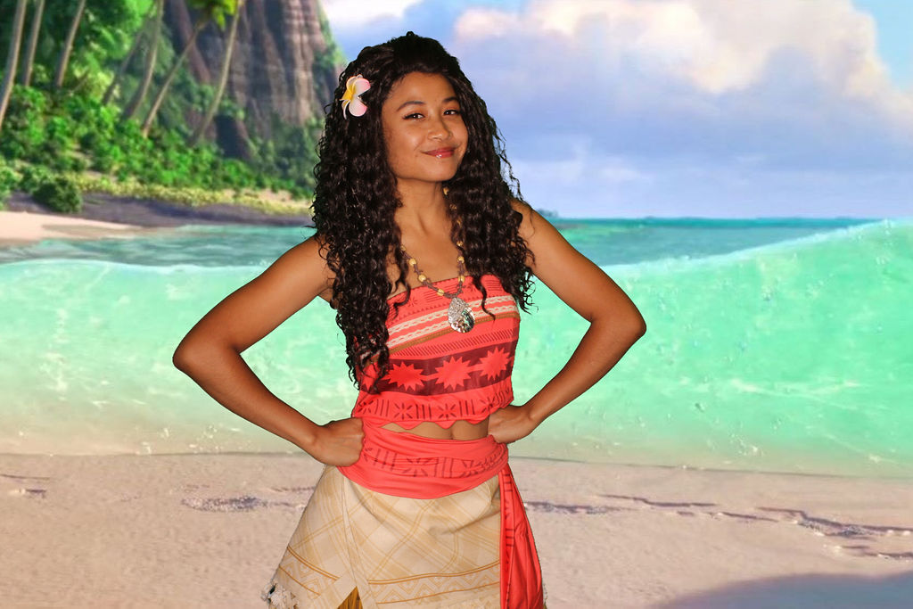 Moana character for parties OC