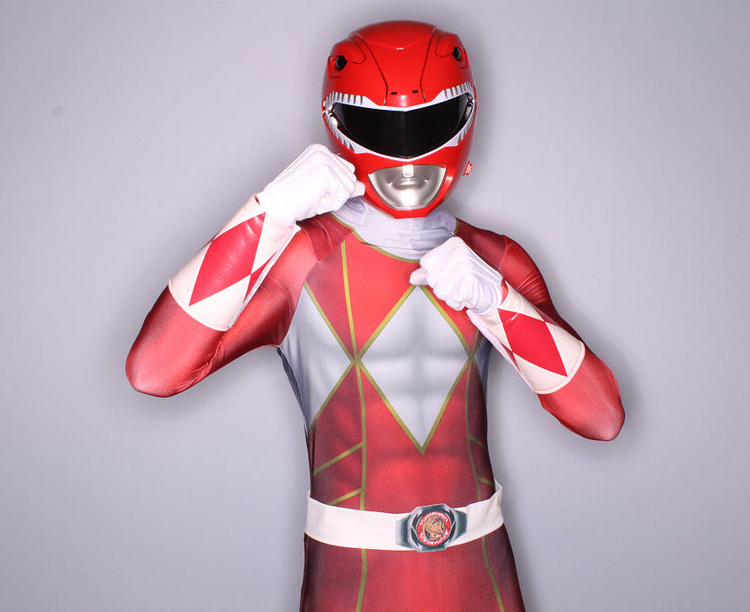 Red Power Ranger Party Character