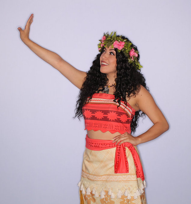Moana Party Character for Hire