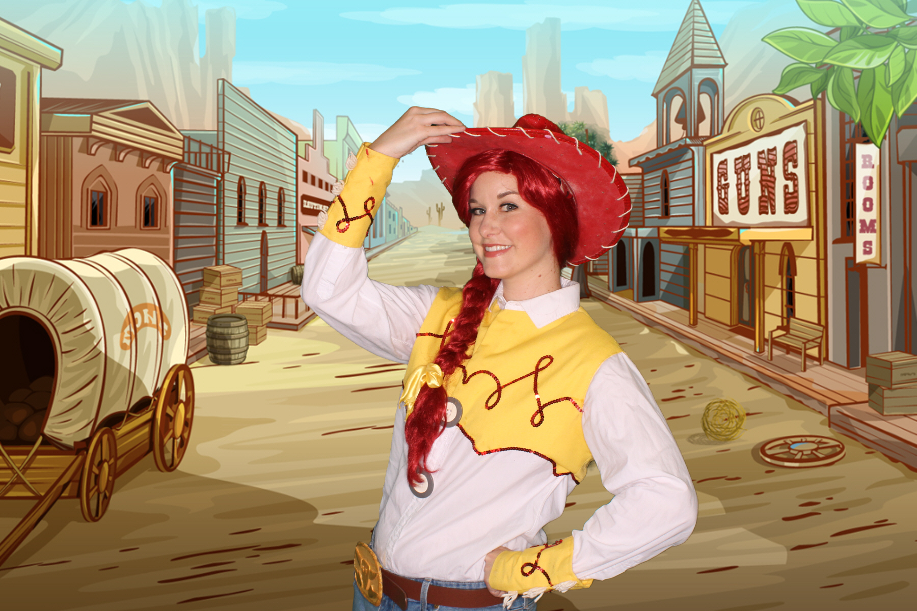 Jessie Character for hire