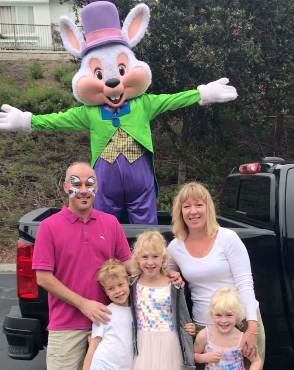Easter Bunny drive by party