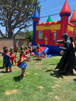 Superhero training activity